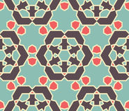 Retro Seamless Wallpaper. Seamless Wallpaper. Vintage Pattern. Retro Color Background vector illustration