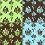 retro seamless wallpapers royaltyfri illustrationer