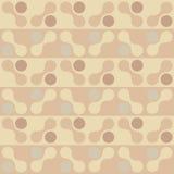 Retro seanless patroon van de chocoladevorm. EPS 8 Stock Fotografie