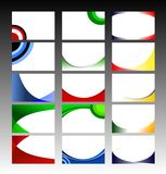 Retro selezione della priorità bassa del reticolo Fotografie Stock