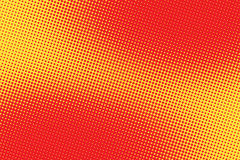 Retro semitono comico di pendenza del quadro televisivo del fondo di rossi carmini illustrazione vettoriale