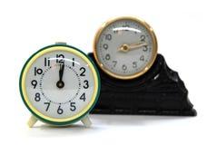 retro sepia för klocka Arkivbild