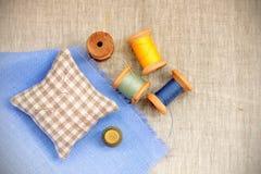 Retro set Handicraft Royalty Free Stock Images