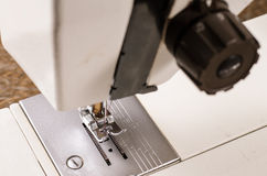 Retro sewing machine Stock Photos
