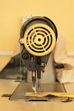 Retro sewing machine. Old vintage sewing machine,needle Stock Images