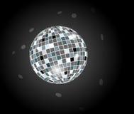 Retro sfera della discoteca del partito Immagini Stock