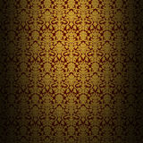 Retro shabby wallpaper Stock Photo