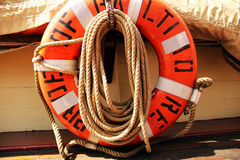 Retro ship. In Baltimore MD Stock Image