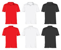 Retro shirt set Stock Images
