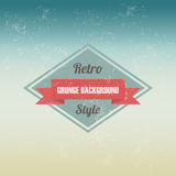 Retro sign Royalty Free Stock Images
