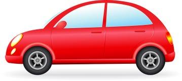 retro siluetta dell'automobile Fotografie Stock Libere da Diritti