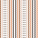 Retro Simple Brown Beige Stripe Lines Textile Background Pattern. Retro Simple Brown Beige Stripe Lines Background Pattern  Decoration Vector illustration Vector Royalty Free Stock Photos