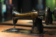 Retro Singer Sewing Machine Royalty Free Stock Photography