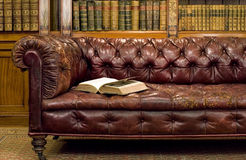 Retro sitting room Stock Images
