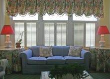 Retro sitting room Stock Image