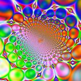 Retro Sixties 60s or Seventies 70s Background Stock Images