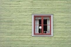 Retro- skandinavische Fassade Lizenzfreies Stockfoto