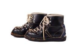 retro ski buty obrazy stock