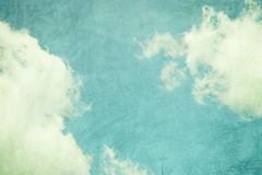 Retro sky abstract background Stock Image