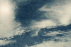Retro sky background Stock Photography