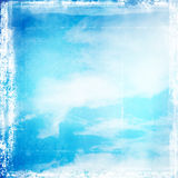 Retro sky background Royalty Free Stock Image