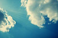Retro sky Royalty Free Stock Photography