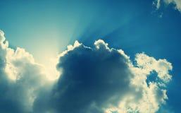 Retro sky Royalty Free Stock Image