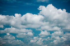 Retro sky and clouds background Royalty Free Stock Photography