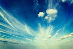 Retro Sky Image Stock Photography