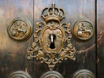 Retro sleutelgat Royalty-vrije Stock Fotografie