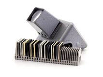 Retro slide viewer Royalty Free Stock Images