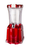 Retro slush drink machine. Shiny red retro slush maker: this appliance makes an icy drink also known as a Slushy or a Slurpee Stock Images