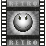 Retro smiley Immagine Stock
