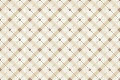 Retro sömlös polka Dot Pattern för vektor Fotografering för Bildbyråer
