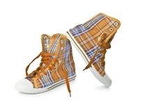 retro sneakers Zdjęcia Royalty Free