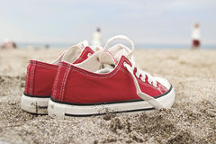 Retro sneakers Stock Images