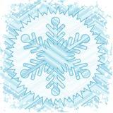 Retro snow Royalty Free Stock Photography