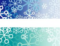 Retro snow Royalty Free Stock Image