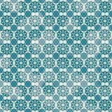 Retro snow seamless pattern Stock Photography