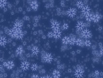 Retro snowflakes background Royalty Free Stock Photography