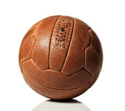 Retro soccer ball Stock Images