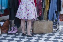 Retro stockings Royalty Free Stock Photo