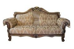 Retro sofà Fotografia Stock Libera da Diritti