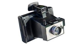 Retro- sofortige Kamera Lizenzfreies Stockbild