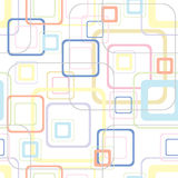 Retro soft square pattern Stock Photo