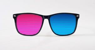 Retro solglasögon för mode royaltyfri bild