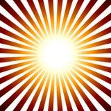 Retro- Sonne Lizenzfreie Stockfotos