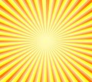 Retro- Sonnendurchbruchhintergrund Lizenzfreie Stockfotografie