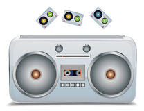 Retro sound Stock Images