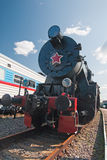 Retro soviet train Royalty Free Stock Photography